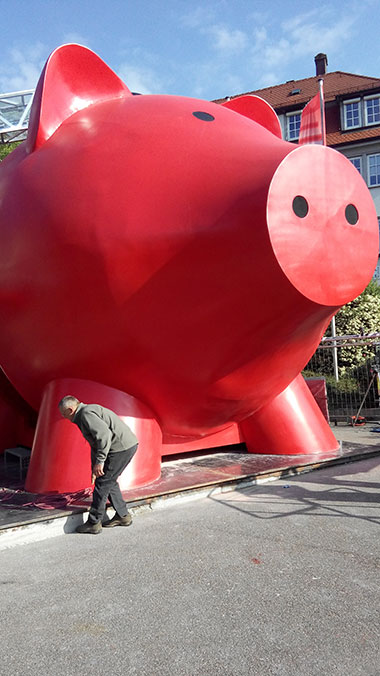 Largest Piggy bank 3