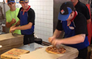 Video: Most pizzas made in one hour by a team record set by Domino's staff in Australia
