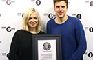 DJ's Fearne Cotton and Greg James delighted as BBC Radio 1 sets YouTube world record