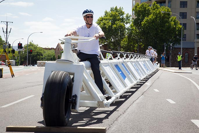 World's longest bicycle