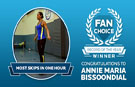 The inspirational story of Fan Choice Record of the Year winner Annie Maria Bissoondial