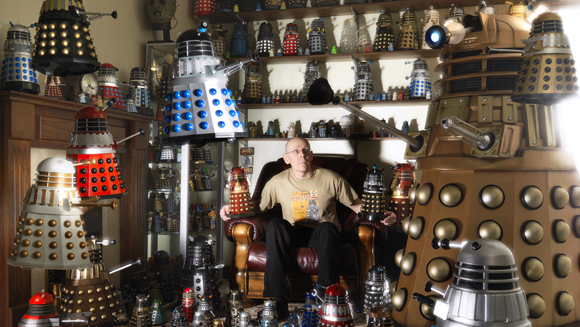 Record holder profile: Rob Hull - owner of the largest collection of Daleks