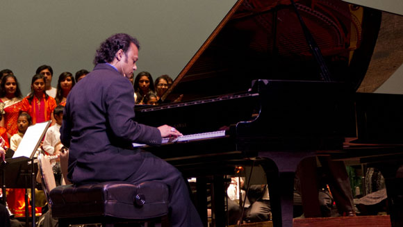 Sai 'Psychuck' Manapragada plays his way to new piano world record