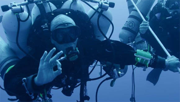 Ahmed Gabr Breaks Record For Deepest SCUBA Dive At More