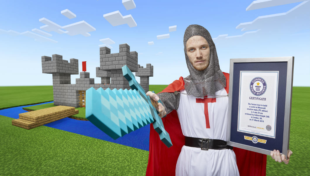 YouTube gamer SeaPeeKay becomes king of the castle with latest