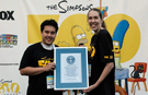 Simpsons fans set longest marathon watching television record ahead of show's 500th episode