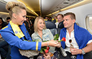 Love is in the air as highest speed dating event record is set on board jet plane