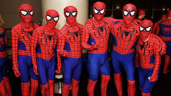 Largest Gathering Of People Dressed As Spiderman 3