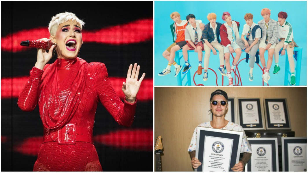 REVEALED: TAYLOR SWIFT, JUSTIN BIEBER, DRAKE AND BTS ROCK THE GUINNESS WORLD RECORDS 2019 EDITION