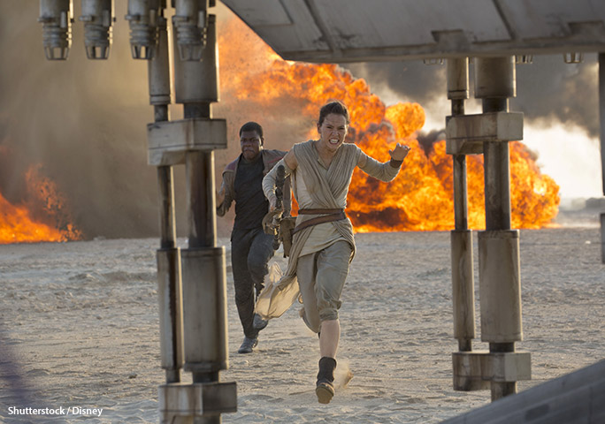 For now, 2015 Star Wars sequel The Force Awakens retains its title as the highest-grossing movie at the domestic box office