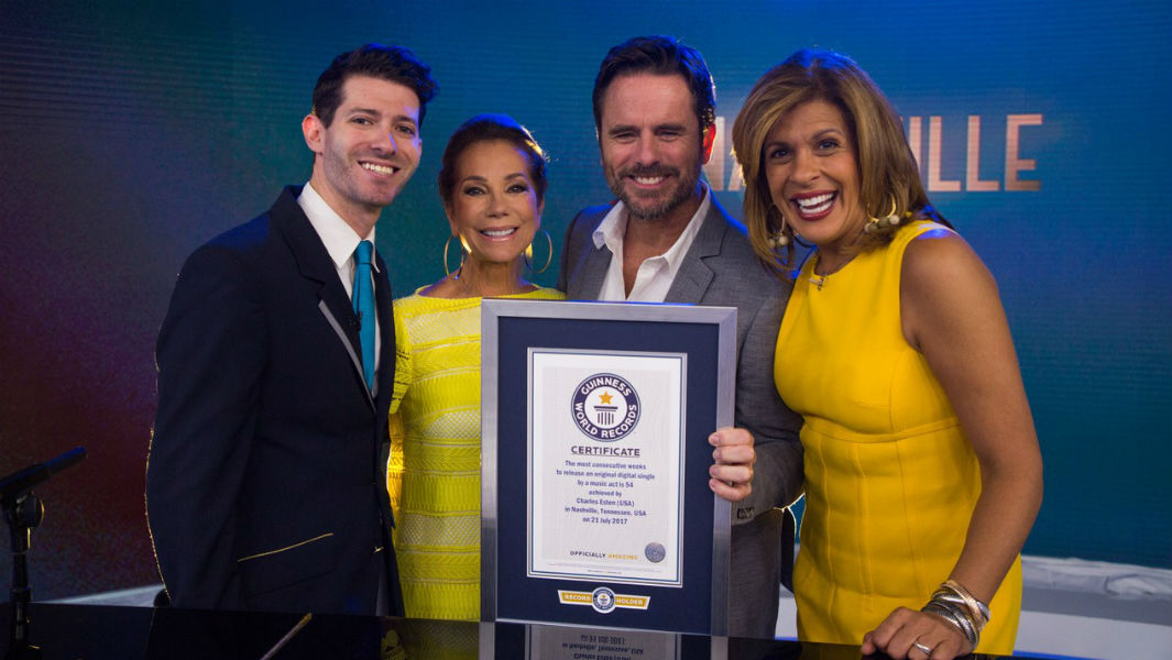 Country music star and actor Charles Esten honored with official certificate on TODAY show