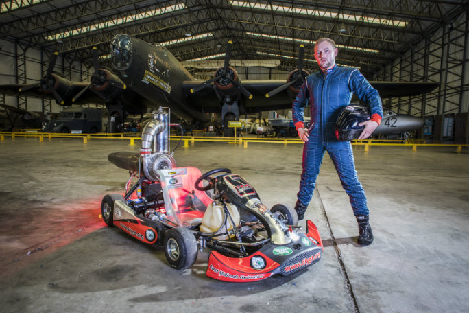 Video: British engineer rockets to new record by achieving