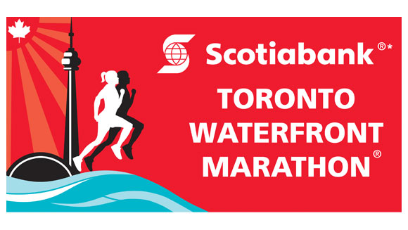Become a record-breaker at the Scotiabank Toronto Waterfront Marathon
