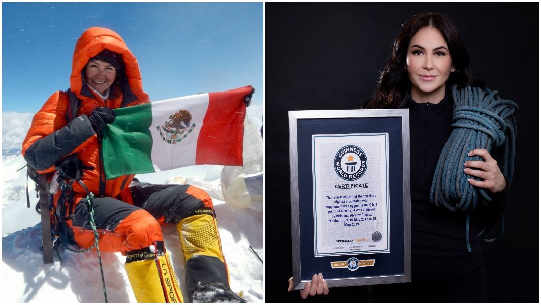 Viridiana-on-top-of-mountain-and-posed-with-certificate