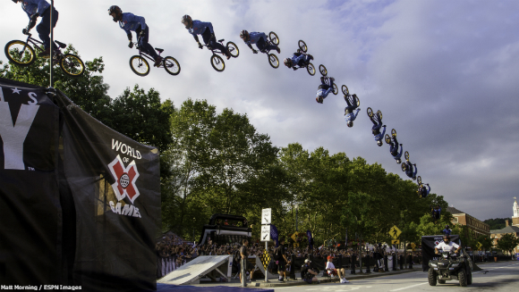 Longest Power Assisted Bicycle Backflip X Games K-Rob