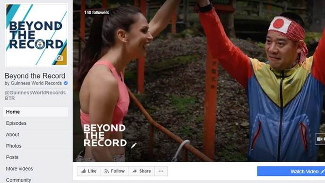 What to expect on Guinness World Records' new Facebook show, Beyond the Record