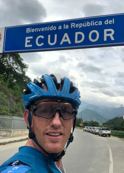 Fastest time to cycle the length of South America 14