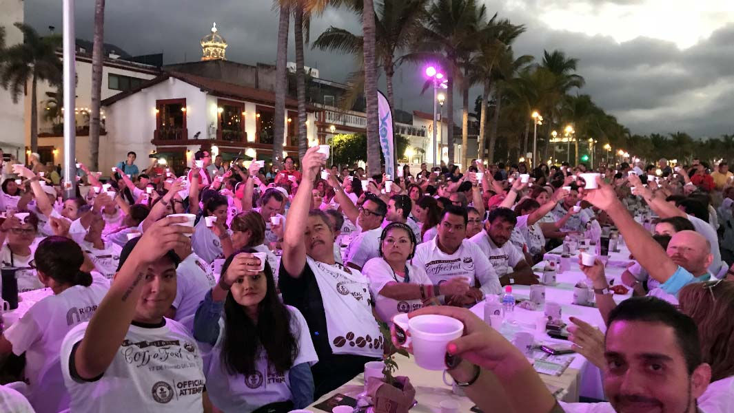 Puerto Vallarta puts on a coffee lover's dream as it holds a record tasting event