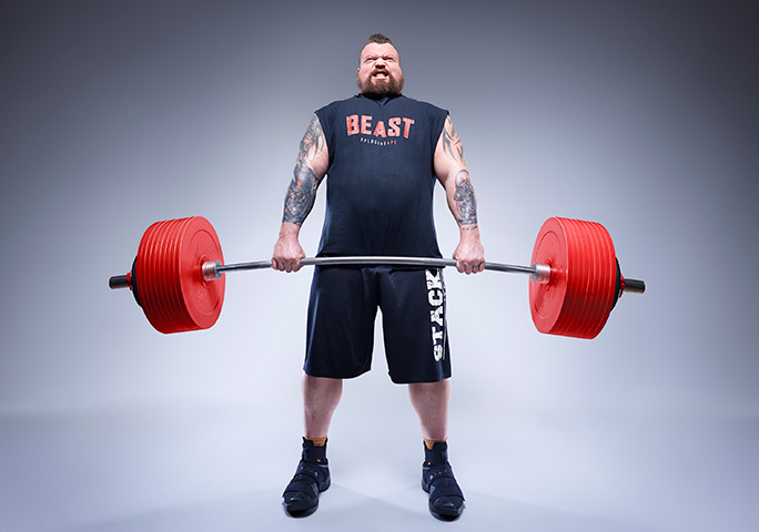 Eddie Hall won the World's Strongest Man competition in 2017