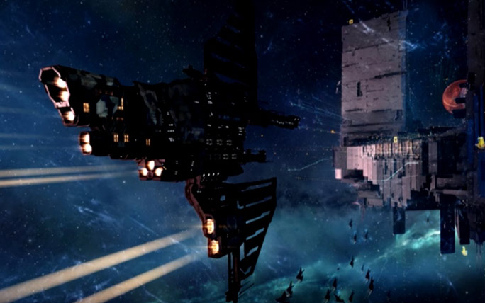 EVE Online gamers set new record for taking part in a huge video