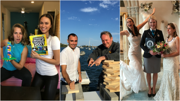 Facebook Live Rewind: Bridal gowns, martial artists, and exploding volcanos