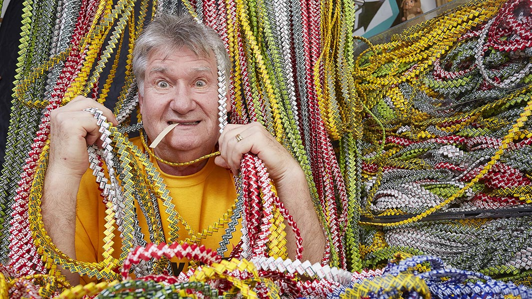 World's longest gum wrapper chain created by 70-year-old retired teacher