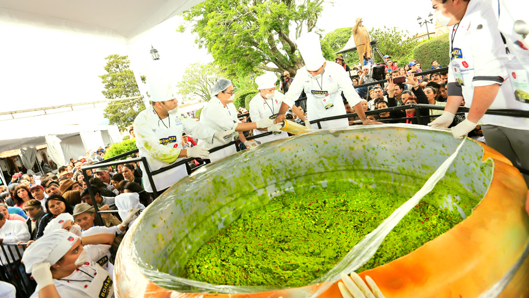 Largest serving of guacamole record broken in Mexico