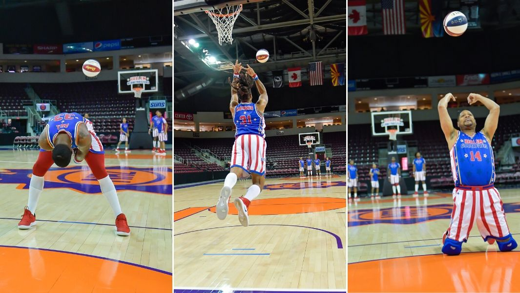 The Harlem Globetrotters have set six records for Guinness World Records Day 2019