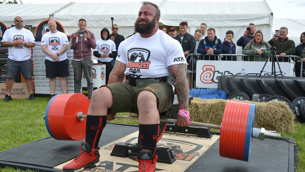 Video: World's Strongest Man winner Eddie Hall shares his
