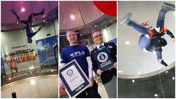 iFLY launch new indoor skydiving centre with multiple record attempts across Australia