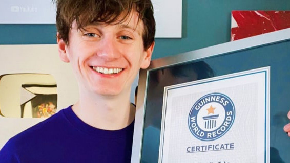 JackSucksAtLife creator Jack Massey Welsh sets record with his YouTube channels