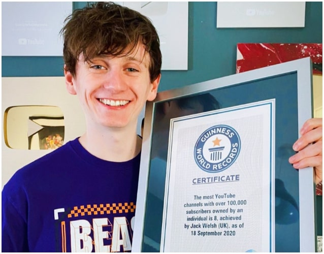 Jack Sucks At Life Guinness World Records story certificate