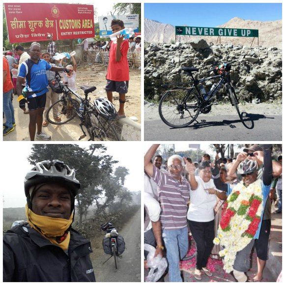 Journey By Bicycle Collage - GWR India