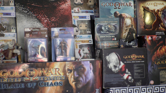Largest God of War collection items