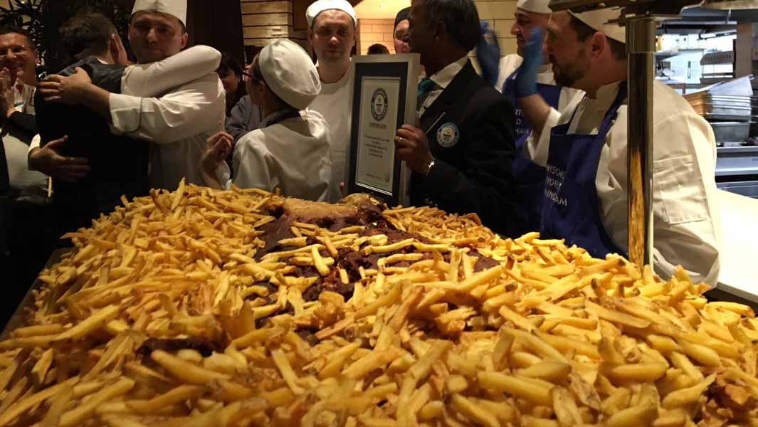 British restaurant serves up world's largest portion of fish and chips