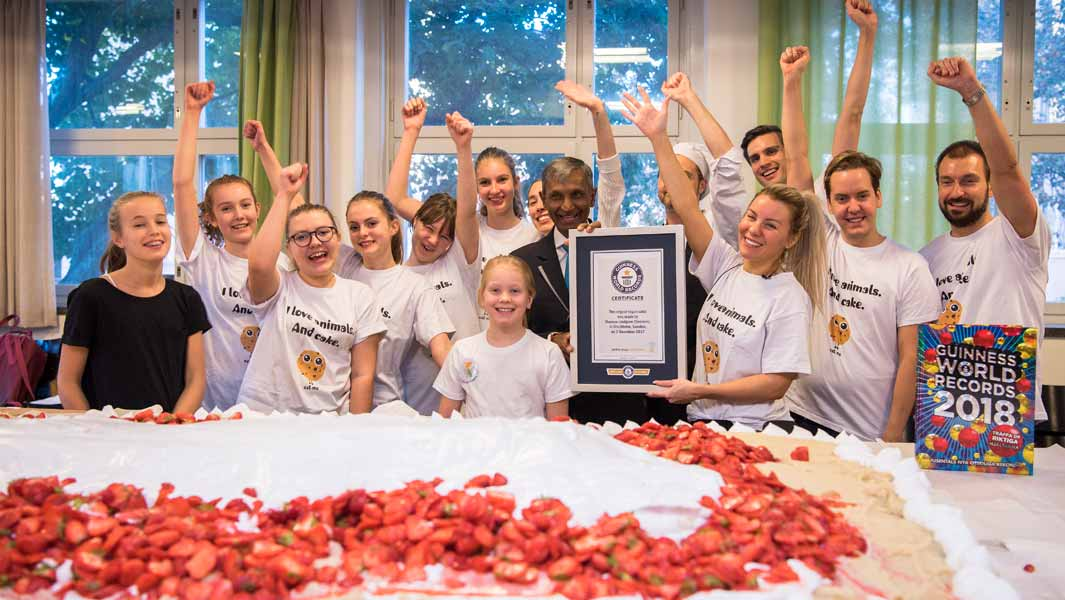 Big food, speed eating and blowing Maltesers - 5 food records you could attempt on Guinness World Records Day