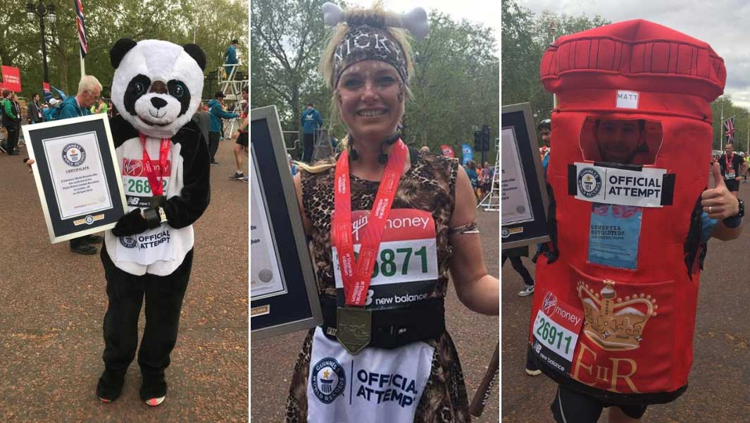 London Marathon 2019 record breakers