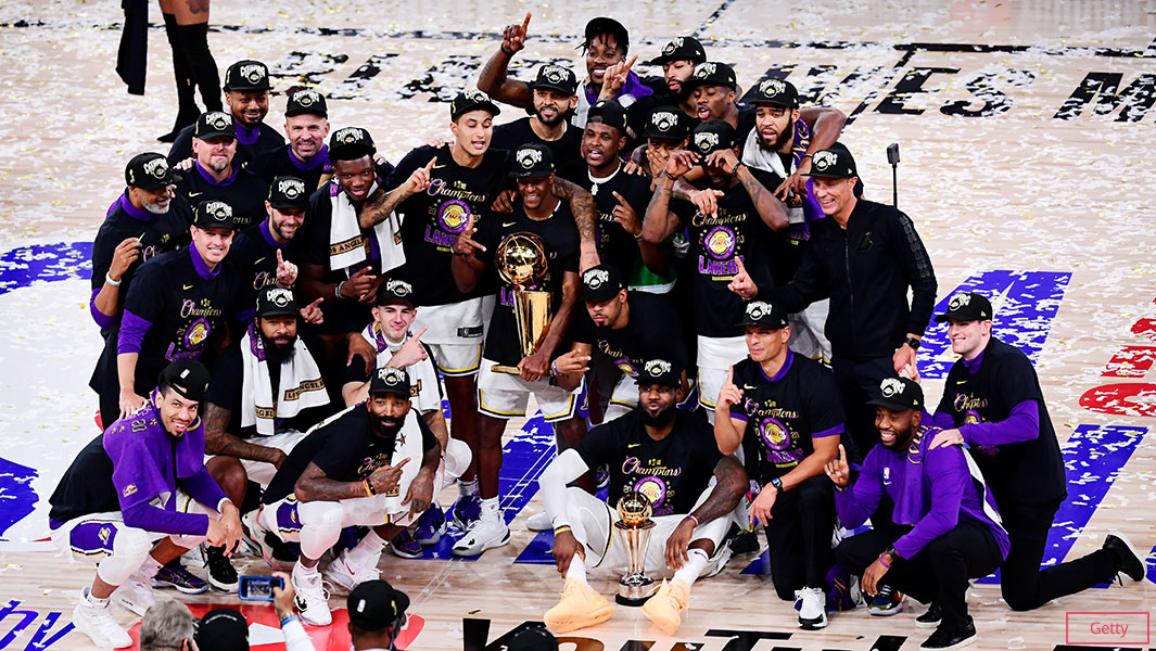 Lakers Break Three Records Upon Their Victorious 2020 NBA