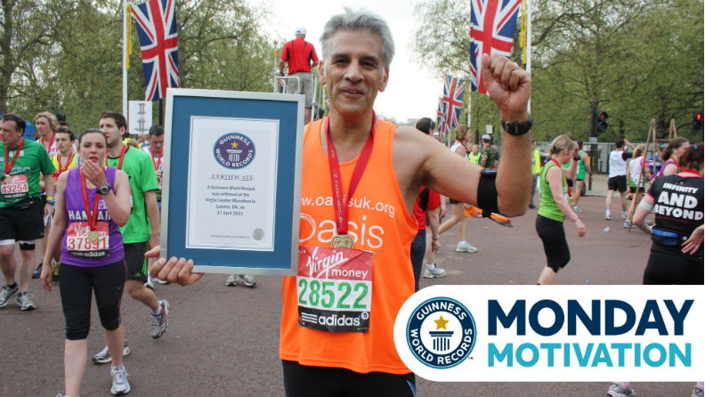 Monday Motivation: How Reverend Steve Chalke set the record for Most money raised by a marathon runner
