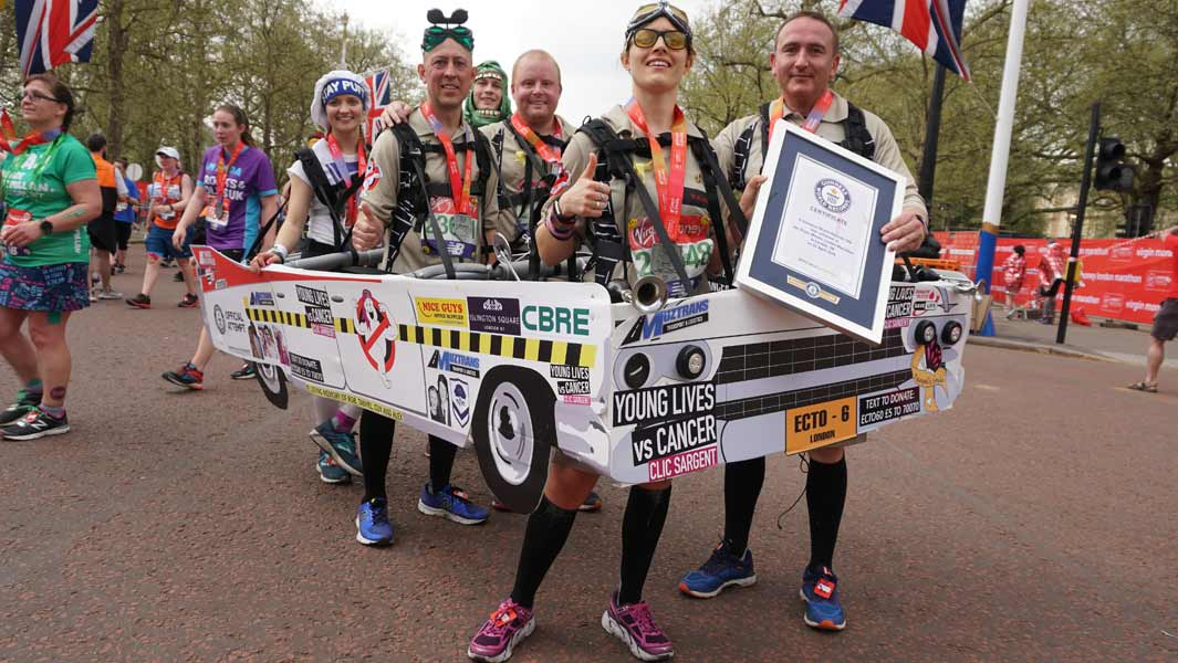 10 tips for attempting a marathon record in fancy dress