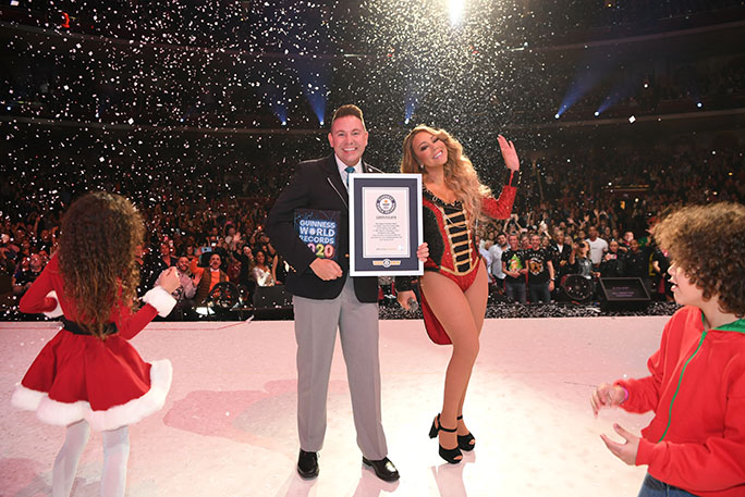 Christmas World Records 2020 The celebrity records of 2019: from Mariah Carey's Christmas smash
