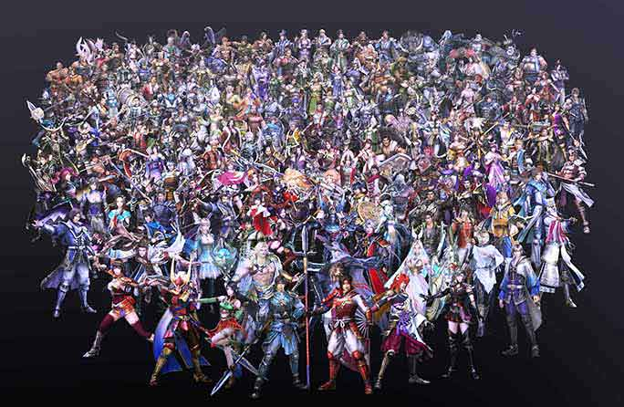 Image result for warriors orochi 4 characters
