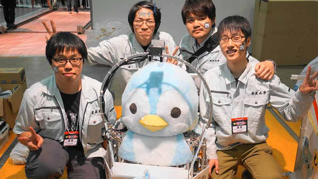 Video: The penguin-shaped robot that's skipped into the record books