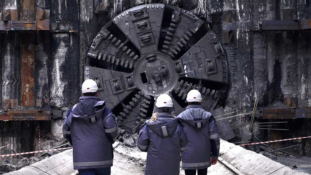 Nothing boring about this: 23 boring machines break a record title in Russia