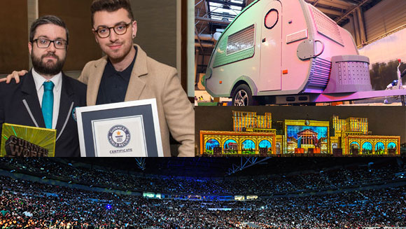 2015 in World Records - October: Records from Microsoft, singer Sam Smith, and an incredibly long slip and slide