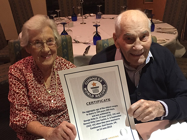 oldest-couple-to-marry-GWR-cert