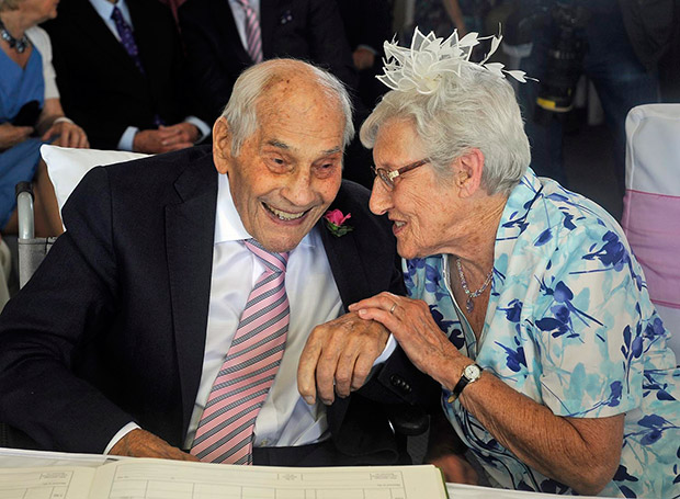 Oldest Couple to Marry Guinness World Records wedding