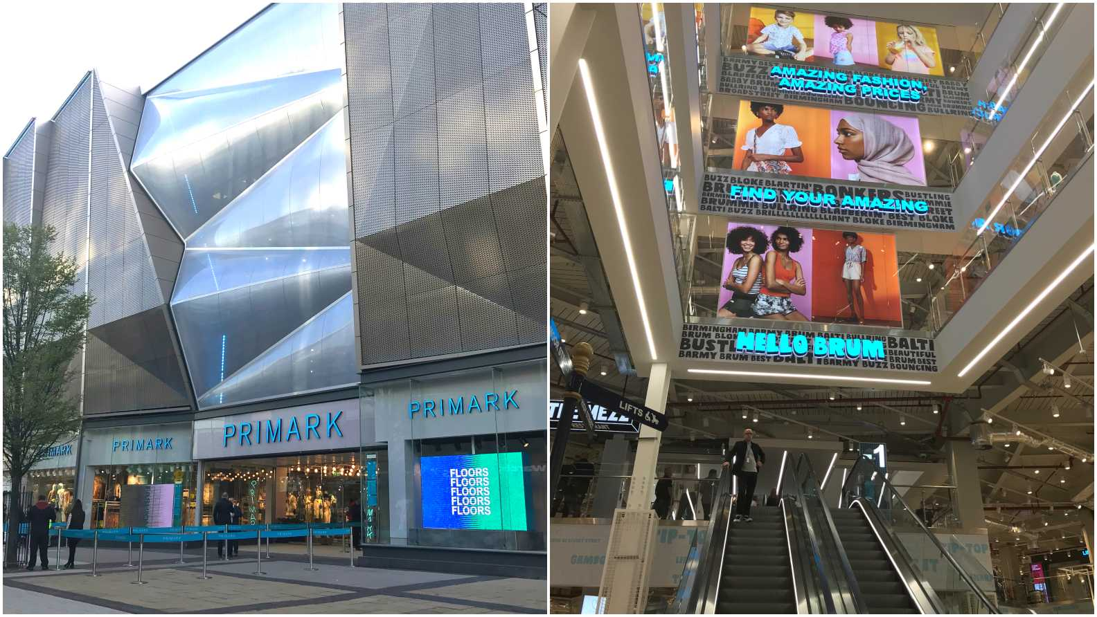 Inside and outside the world's biggest Primark
