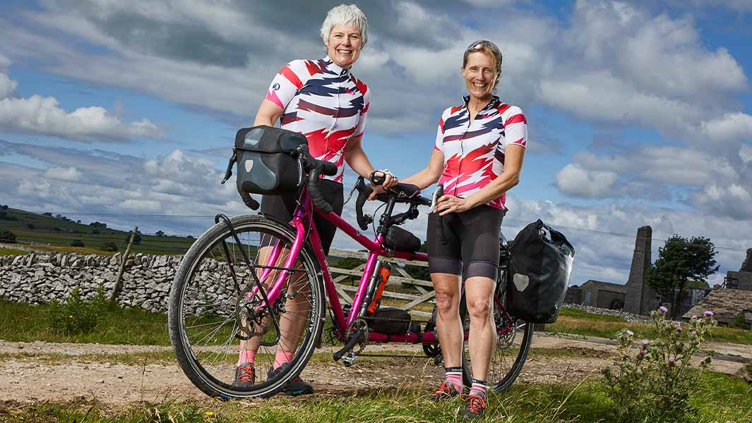 British duo complete the fastest ever circumnavigation by tandem bicycle