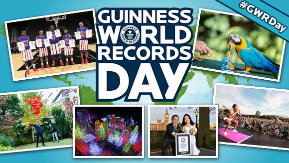 Guinness World Records Day 2016: A look back at 24 hours of record-breaking action